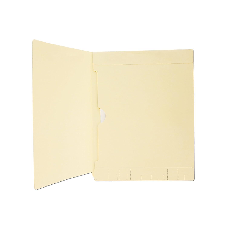 50//Box 23935R 64764R Medical Arts Press Match Manila Watershed Cutless End Tab Folders with Full Pocket
