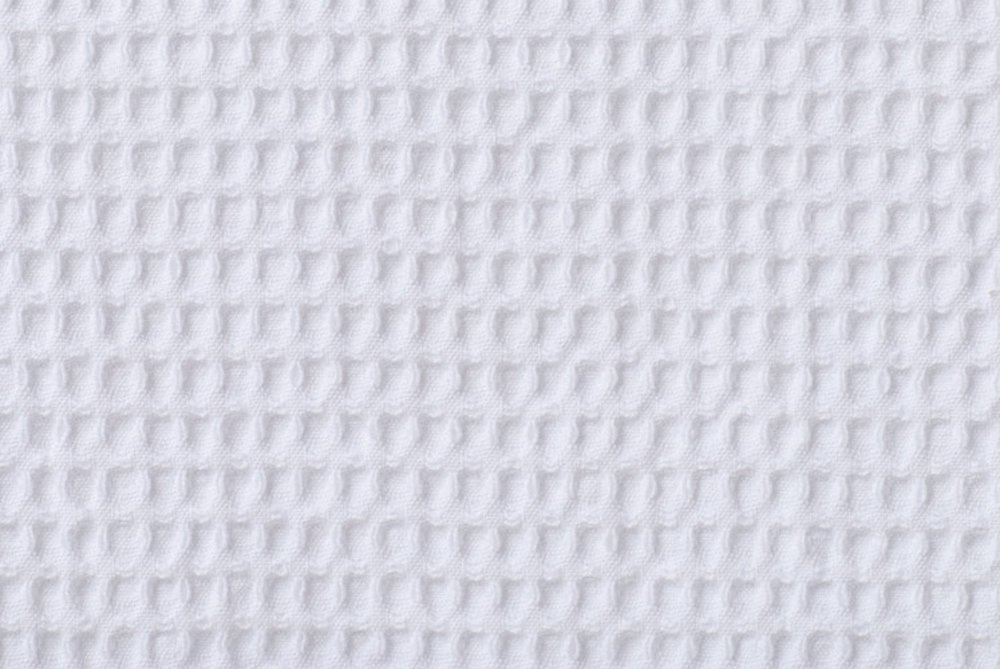 Classic Waffle Weave Bath Towel Set (White)