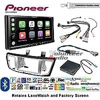Volunteer Audio Pioneer AVH-2440NEX Double Din Radio Install Kit with Apple CarPlay, Android Auto and Bluetooth Fits 2013-2017 Honda Accord