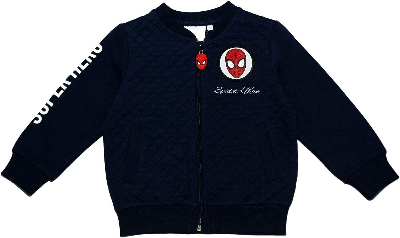 SPIDERMAN Marvel Cosy Warm Jumper Baseball Jacket