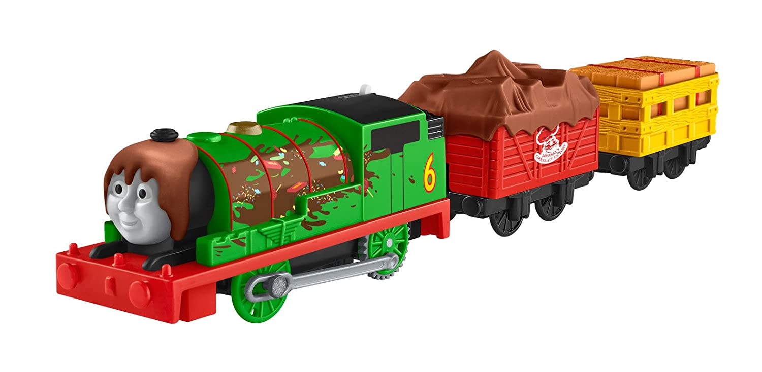 Percys Chocolate Crunch Percy/'s Chocolate Crunch Fisher Price Fisher-Price Thomas /& Friends TrackMaster Import DJY27