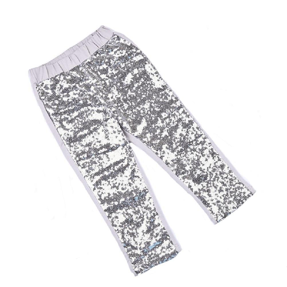 Coralup Little Girls Sequin Pants Leggings