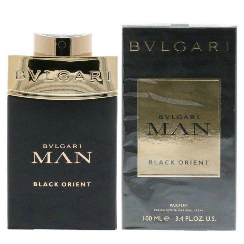 PERFUME POUR HOMME BULGARI BVLGARI MAN BLACK ORIENT POUR HOMME 100 ML EDP 3, 4 OZ 100ML MEN EAU DE PARFUM SPRAY 100% ORIGINAL