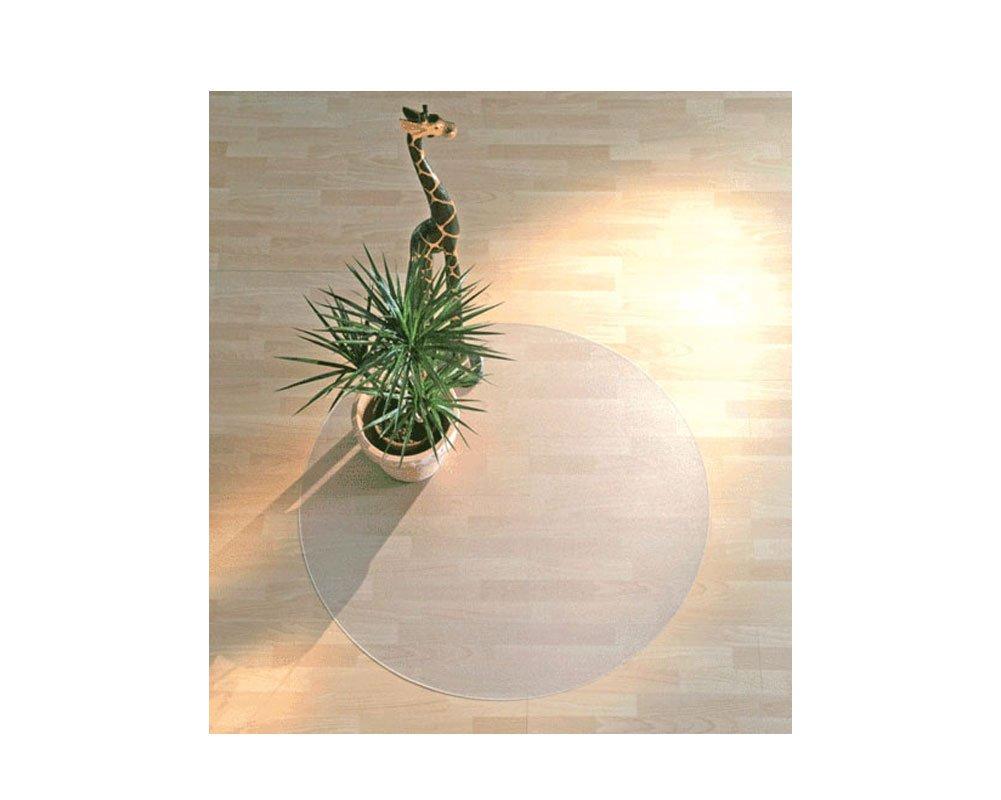 チェアマット クリア 透明 半透明 キャスター 床 キズ防止 フロアシート 厚1.5/2/2.5mm 75×120/90×120/90×140/90×180/120×150CM 1畳 カーペット チェアシート テカらないベタつかない 床を保護 フロアシート おしゃれ マット (3, 半透明円形140) B01LKV2ISE 3|半透明円形140 半透明円形140 3