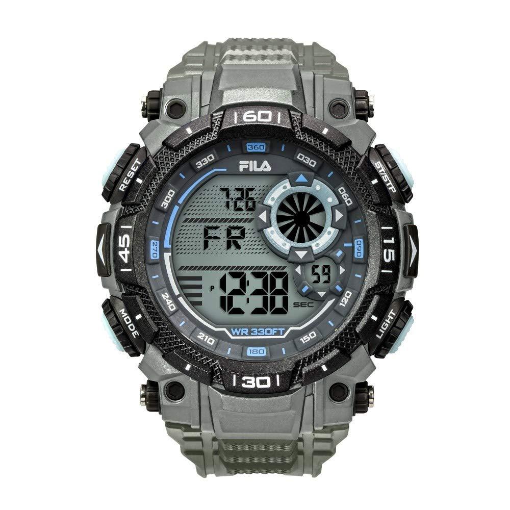 Fila Reloj Digital para Hombre de Cuarzo con Correa en Silicona 38-826-004