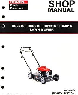amazon com honda hrb215 hrb216 hrb217 hrm215 lawn mower service rh amazon com Honda Harmony 215 Mower Honda Harmony Replacement Parts
