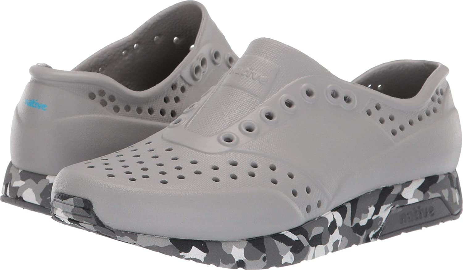 Native Kids Shoes Unisex Lennox Little Kid Pigeon Grey//Konpeito//Dublin Grey 3 M US Little Kid