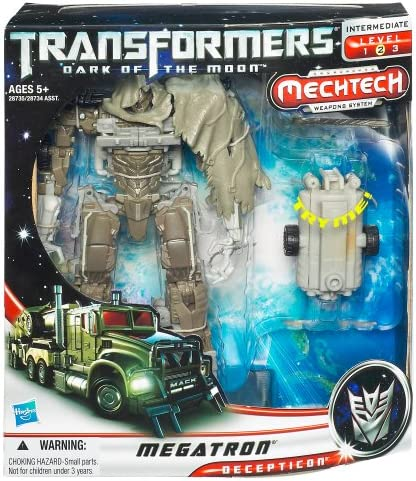 Transformers Dark of the Moon Megatron Voyager DOTM Authentic