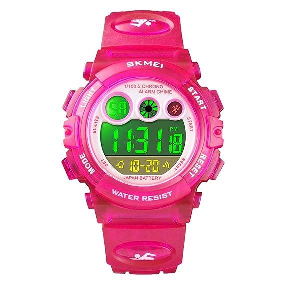Amazon com: Kids Sports Watch Water Resistant Stopwatch