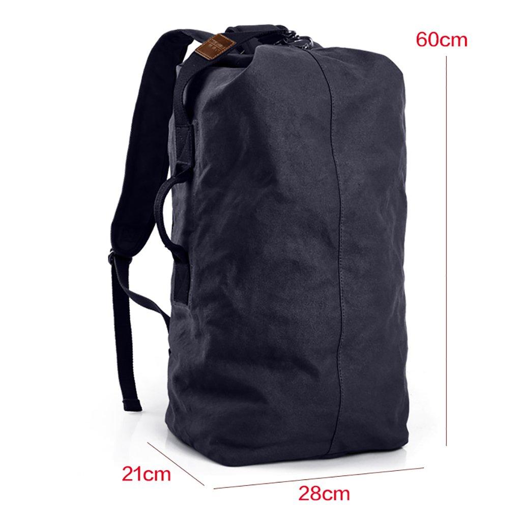 ハイキングバッグ 大容量ショルダーバッグトラベルバッグメンズアウトドアトラベルスポーツキャンバスショルダーバッグ ハイキングバックパック (色 : B, サイズ さいず : 20.5*24.5*50cm) 20.5*24.5*50cm B B07NKRRXVV