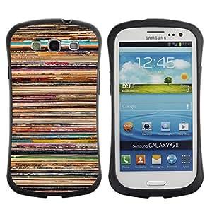 Suave TPU GEL Carcasa Funda Silicona Blando Estuche Caso de protección (para) Samsung Galaxy S3 I9300 / CECELL Phone case / / Skate Lines Paint Pattern Rustic /