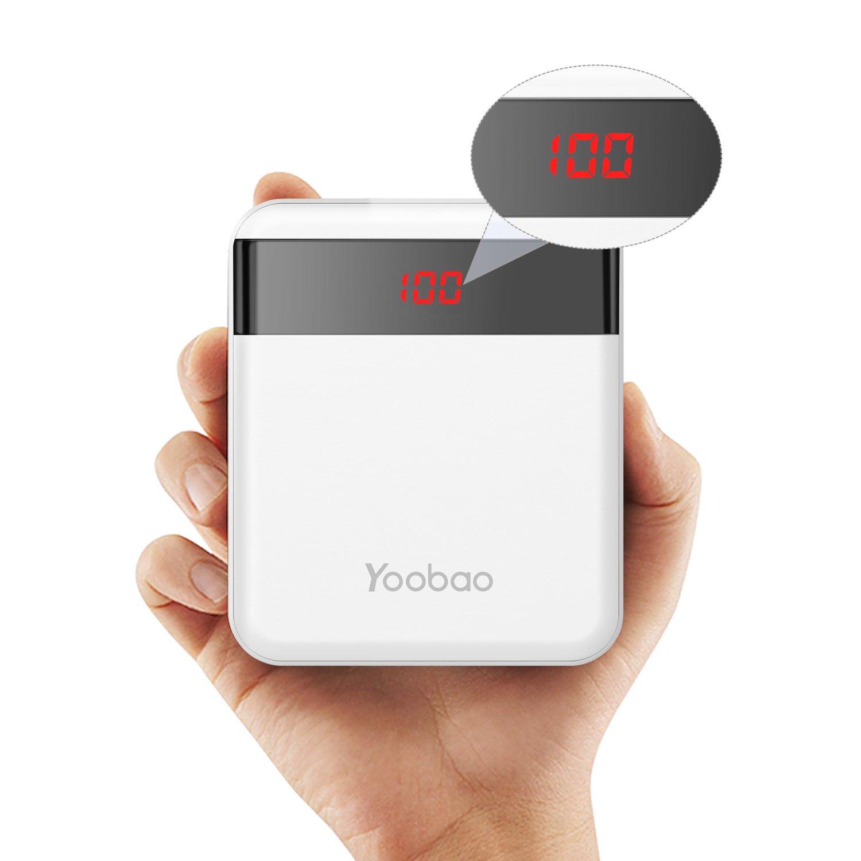 Yoobao MPro mAh Cargador portátil Banco de teléfono móvil Batería externa ultra