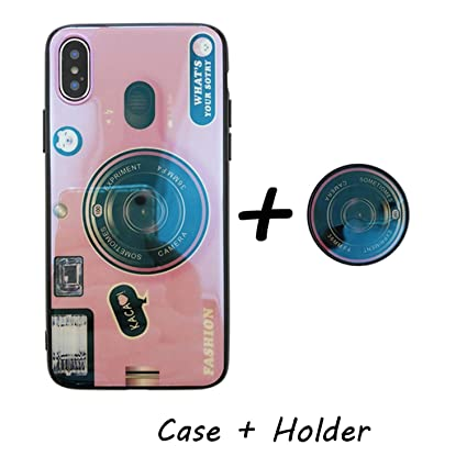 7b4bebffd8 Kickstand Phone Case for iPhone 6S 6 7 8 X XS Max Plus 10 Case Silicone