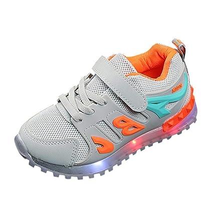 Zapatos niño con luces LED Zapatillas Niños Deportivas eleganti deportivas zapatos de bebé niño niño niña
