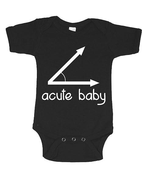 Amazon.com: Bonito traje de una pieza para bebé con texto en ...