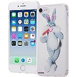 イングレム iPhone7ケース ルーニー・テューンズ TPUケース+背面パネル/クラシックE  IJ-WP7TP/LN005