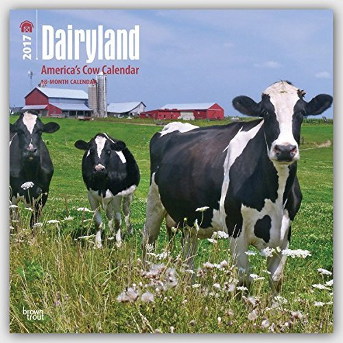2017 Monthly Wall Calendar - Dairyland: America's Cow