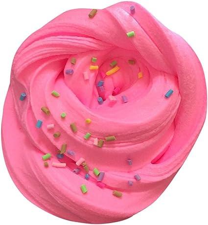 Bonito juego de barro de algodón con nubes de colores, mezcla de colores, nube, algodón de azúcar, manzana, mula, juguete, copo de nieve, vela, juguete para adultos, Rosa: Amazon.es: Instrumentos musicales