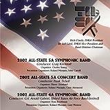 2002 Texas Music Educators Association (TMEA) All-State 5A & 4A Concert & Symphonic Bands