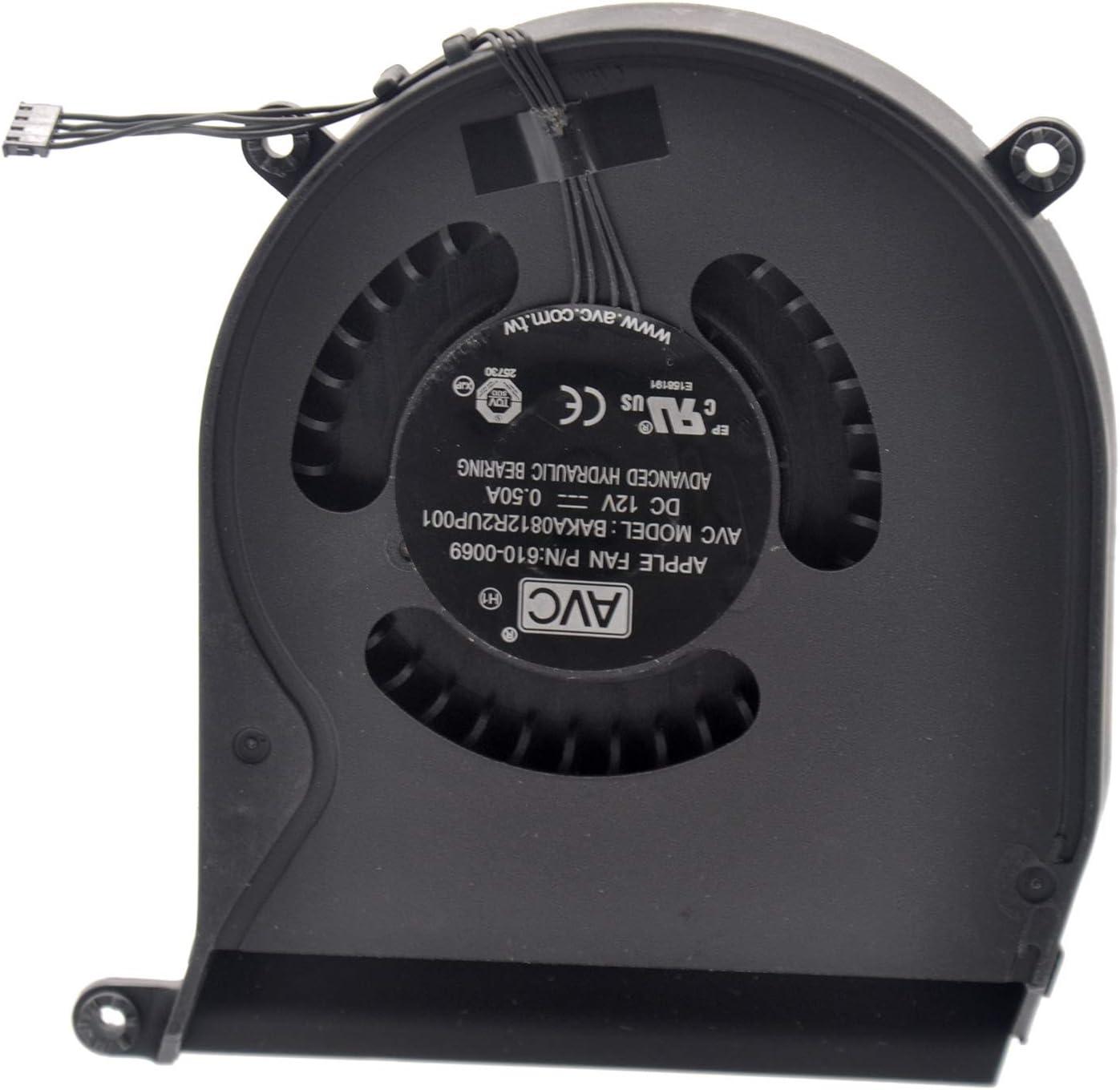 Deal4GO CPU Cooling Fan for Apple Mac Mini A1347 CPU Fan 2010 2011 2012 610-0069 922-9953 610-0056 922-9557 610-9557 610-0164 BAKA0812R2UP001