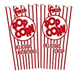 popcorn bags or boxes - Perfect Stix PopcornBox44E-25 Open Top Popcorn Boxes (44E) (Pack of 25)