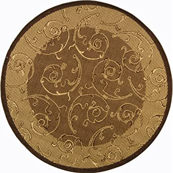 area rugs lowes canada at walmartca courtyard collection brown natural indoor outdoor round rug diameter 9x12