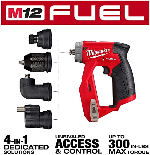 Milwaukee 2505-20 M12 FUEL Installation Drill Driver Tool-Only