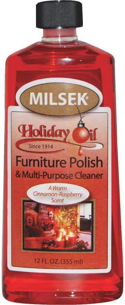 Milsek 13590 12 Oz. Furniture Polish And Cleaner