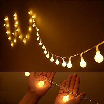 gearmax m led cadena de luz iluminacin para navidad fiestas de boda de jardn