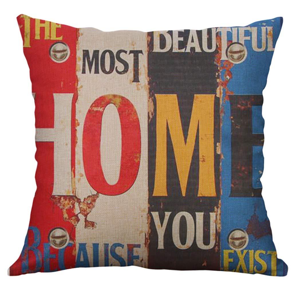Hide on bush Pillow Case丨Sofa Throw Pillow丨Decorative Cushion Car Pillow Kids for Couch Bed Cafe Decor (A)