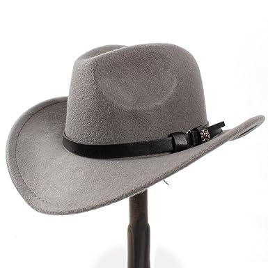 GHC gorras y sombreros Sombrero de vaquero occidental para mujer Sombrero de vaquero occidental para mujer