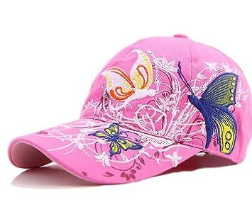 1 x Casquette de Baseball pour Femmes - Nouveau Mode Broderie Coton Cap  réglable   Casquette 109c8ce6b07a
