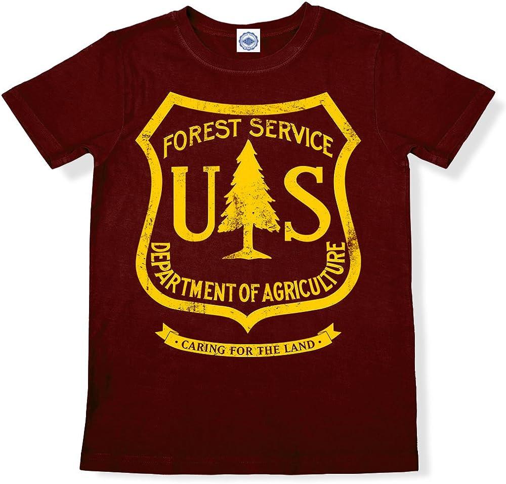 Hank Player U.S.A US Forest Service Kids T-Shirt