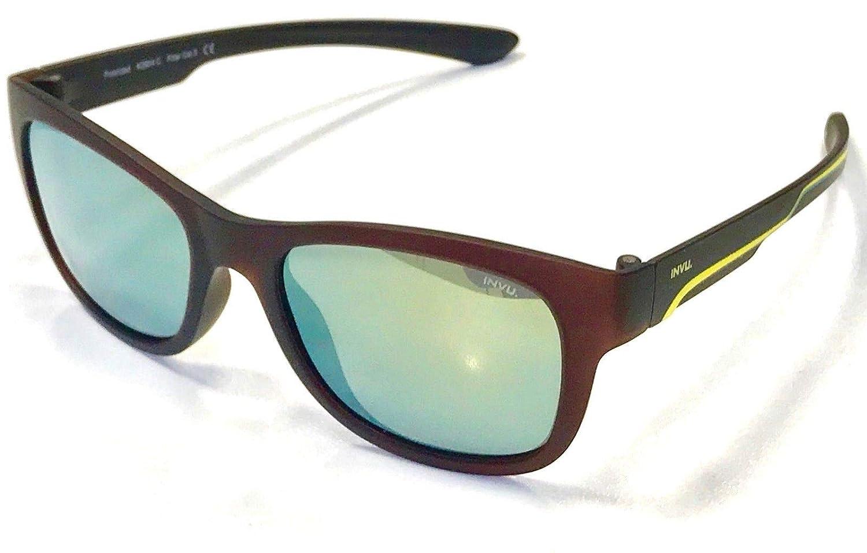 INVU. By Swiss Eyewear Group - Lunettes de soleil - Garçon Marron marron 49   Amazon.fr  Vêtements et accessoires cf8202dca0b0