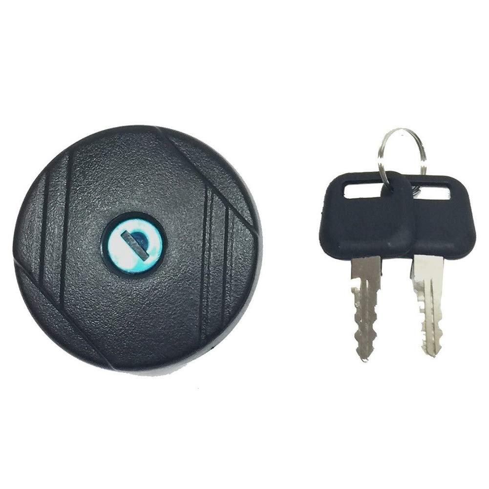 Size: about 7x7x6cm 70mm Universal Fuel Cap For Ford Mini Cover Petrol Easy Install Locking ABS Durable Accessories with Key