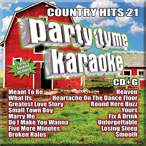 - Party Tyme Karaoke - Country Hits 21