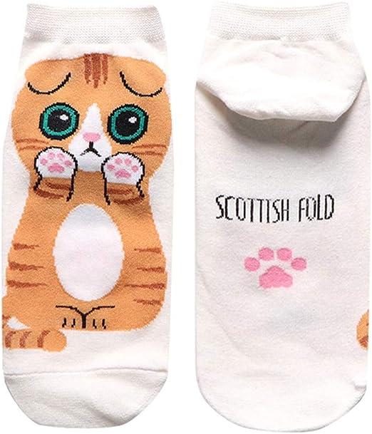 SO-buts - Calcetines de algodón para Hombre, diseño de animación, algodón, Blanco, Talla única: Amazon.es: Hogar