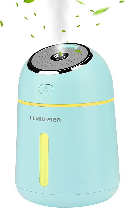 ieGeek Mini Humidificador, Coche/Hogar Humidificador USB, 330ML ...