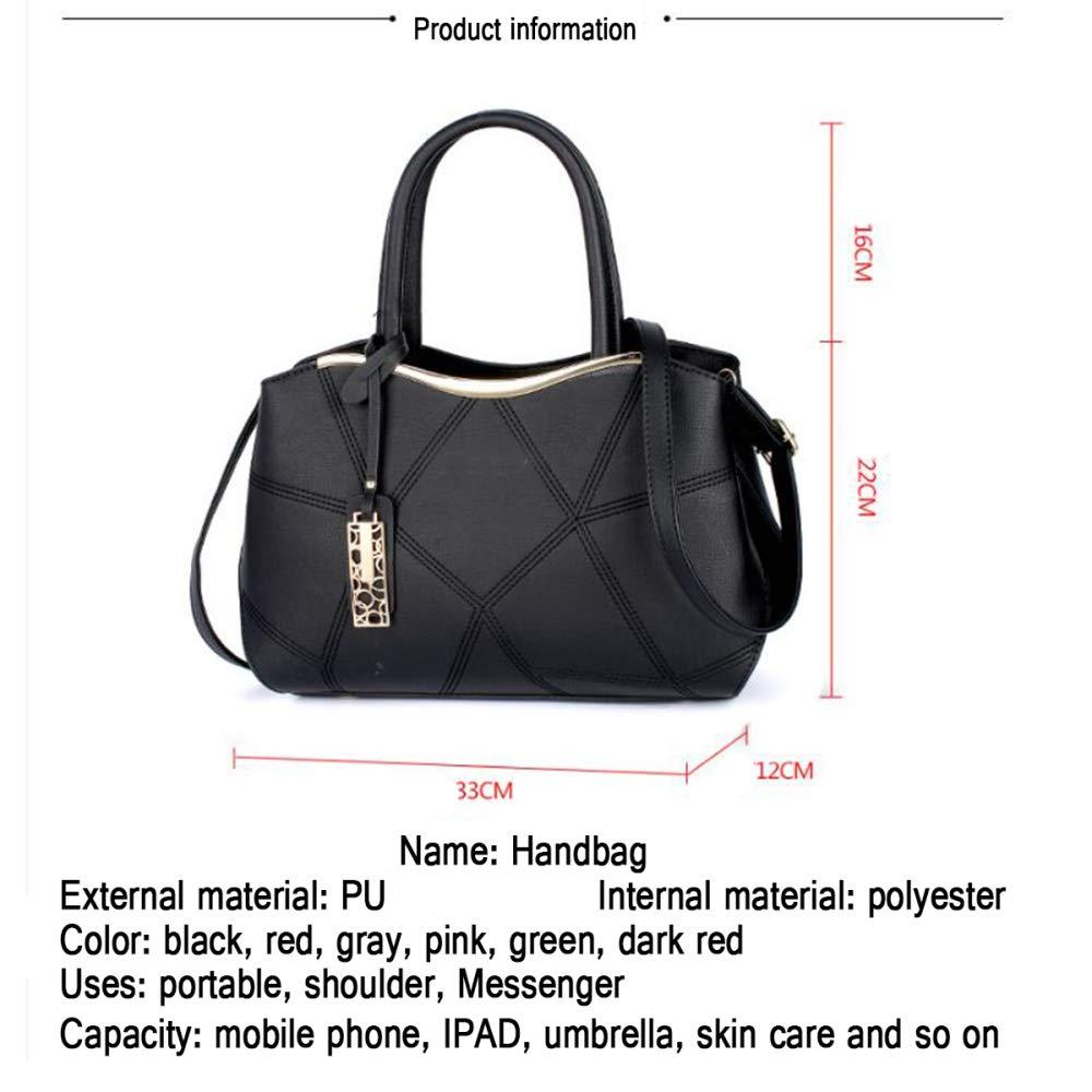 Damen Große Kapazität Handtaschen Casual Weiche Weiche Weiche Leder Pu Umhängetasche Clutch Klassische Abendtasche B07PLZDSGT Clutches 5f1c21