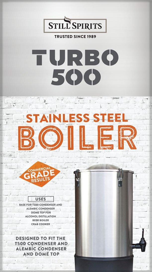 amazon com still spirits t 500 boiler and condenser complete system rh amazon com