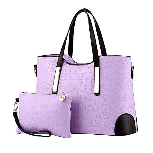 Amazon.com  HIINST Handbags Bags FIap Top Handle Satchel Handbags Tote  Purse Leather Tote Black Women Bag Luis Vuiton Y1213 Color D  Shoes 5c53fa37b783c