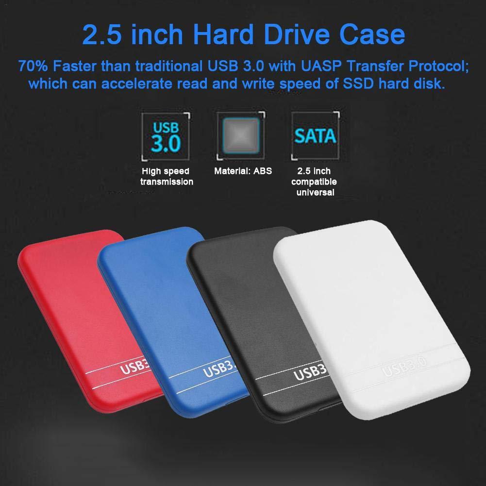 primrosely Caja del Disco Duro Carcasa Disco Duro Externo 2.5 USB ...