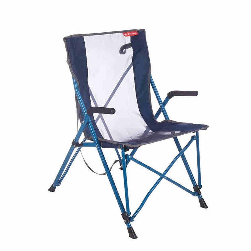 KAI LE Im Freien kampierender Klappstuhl-Lehnsessel im Freien Breathable bequemer Stuhl