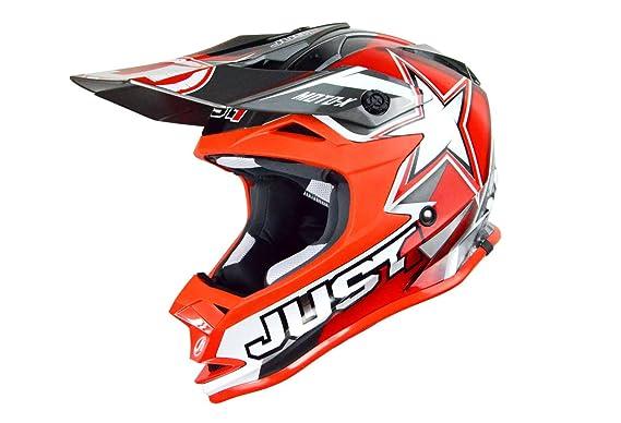 Just 1 Helmets - J32 Moto X Casco de Motocross, Naranja, XS: Amazon.es: Coche y moto