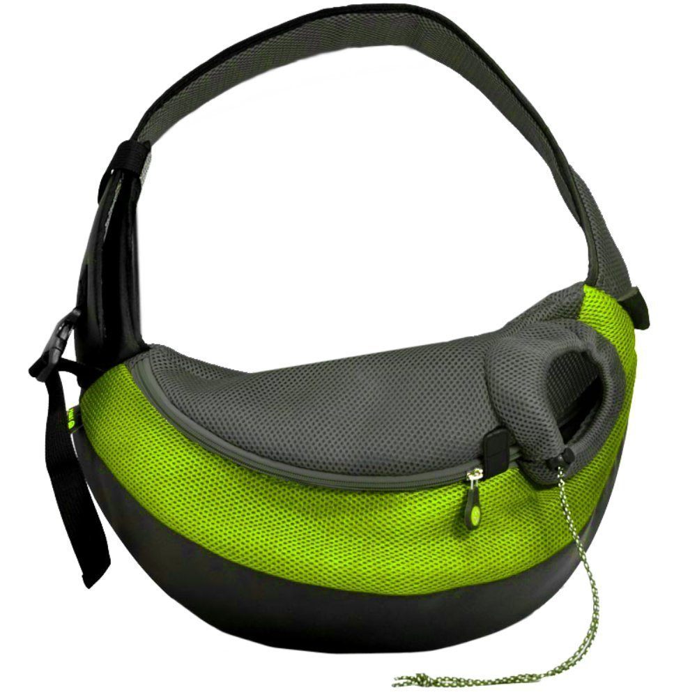 Crazy Paws Pet Sling Large Green by Crazy Paws
