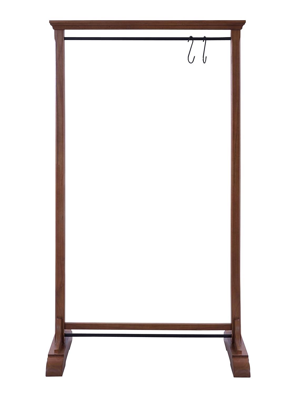 東谷 ハンガーラック ブラウン 本体サイズ:W91×D45×H160cm ロブ ミンディ材 GUY-655 B079TJCL4N