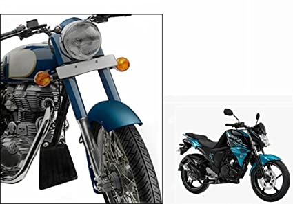 bf47df19e8b Image Unavailable. Image not available for. Colour: Speedwav Bike Engine  Mud Flap-Yamaha FZ-S