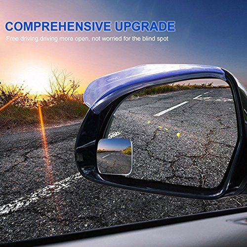 Duoying Xl-1010 Square Square Edgeless Square Mirror Rearview Mirror Blind Spot Mirror Wide-Angle Lens