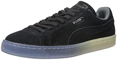 PUMA Mens Suede Classic Fade Future Fashion Sneaker Black