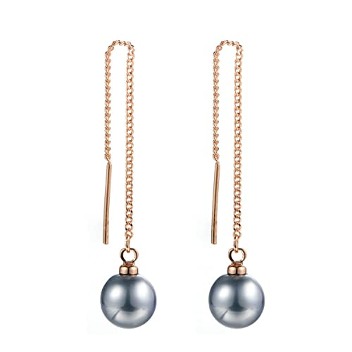 vipshop neoglory pearl earrings zoom simple long gold loading hook